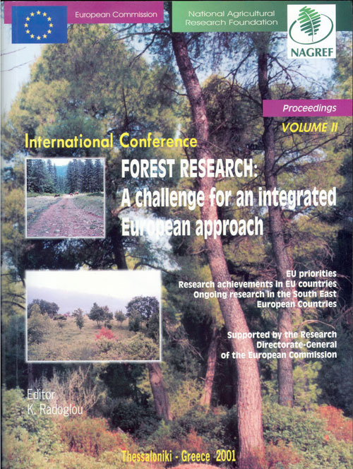 Forest Research: A challenge for an integrated European approach Vol II